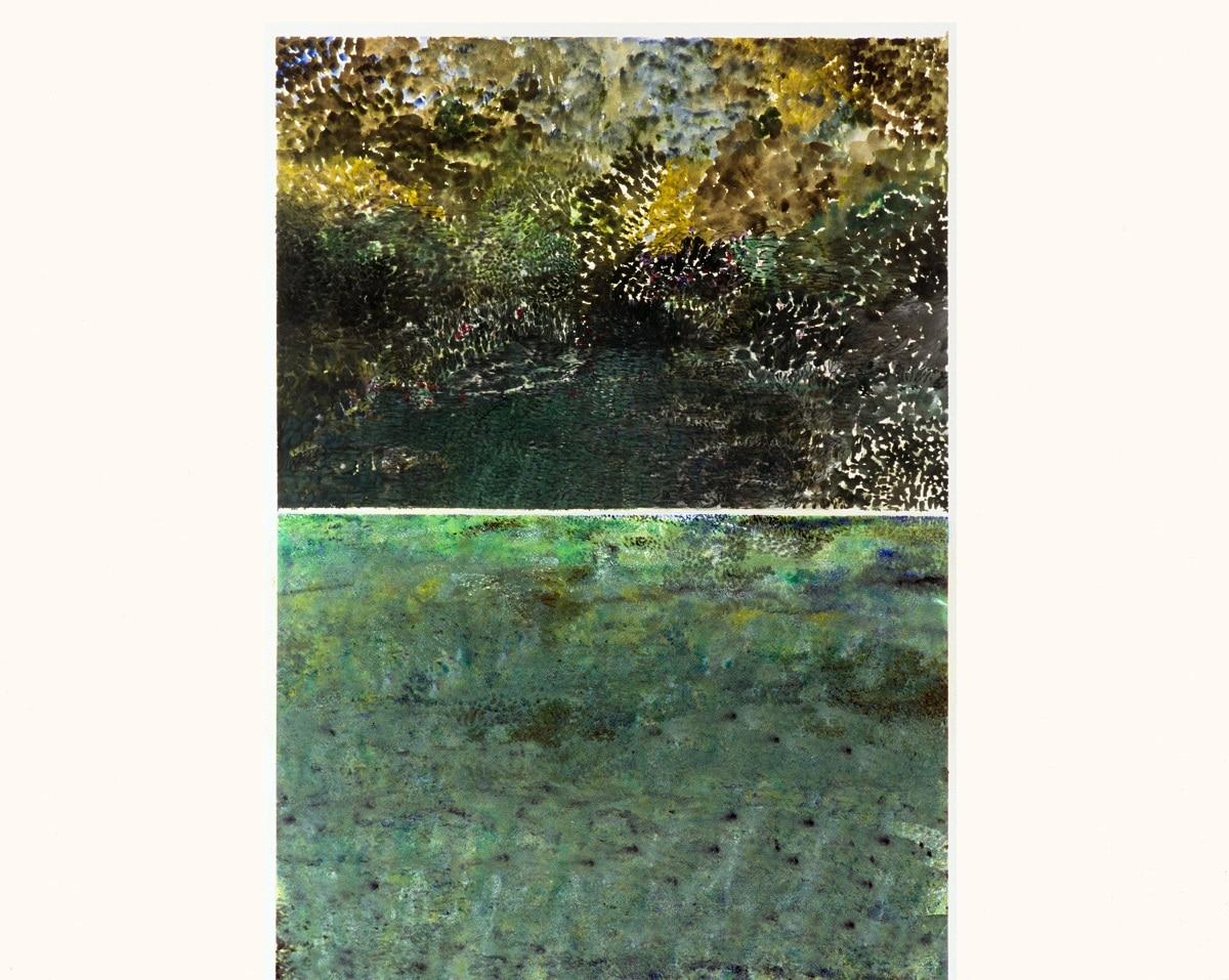 Oil on Paper 82X102cm