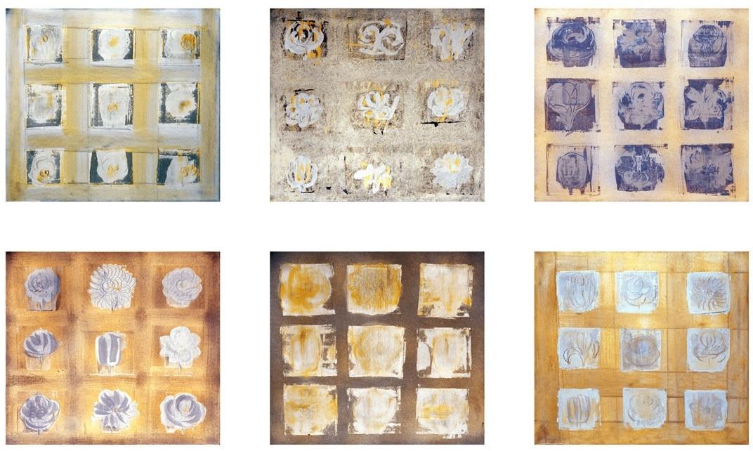 Oil on Paper 41X37cm (each)